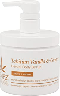product image for Tahitian Vanilla & Ginger Herbal Body Scrub, 16 Ounce