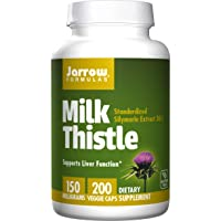 Jarrow Formulas Milk Thistle (Silymarin Marianum), Promotes Liver Health, 150 mg...