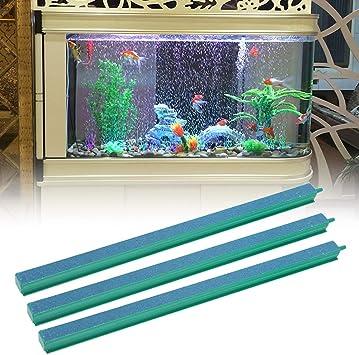 3 Stücke Aquarium Fisch Tank Bubble Air Stone Bar Bubble Ausströmerstein Luftstein Für Aquarium Sauerstoff Pumpe 31 5cm Haustier