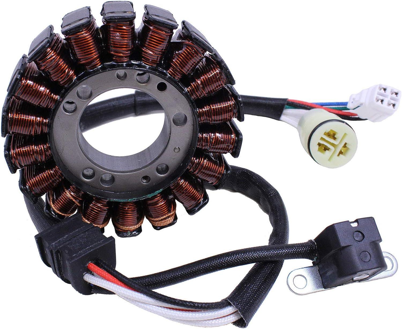 4XE-81410-00-00 2002-2003 Stator Pickup Pulsar Coil for Yamaha ATV Bear Tracker Compatible