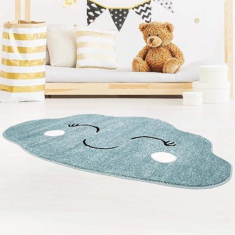 carpet city Tapis pour Chambre d\'enfant Motif Nuage à Poils ...
