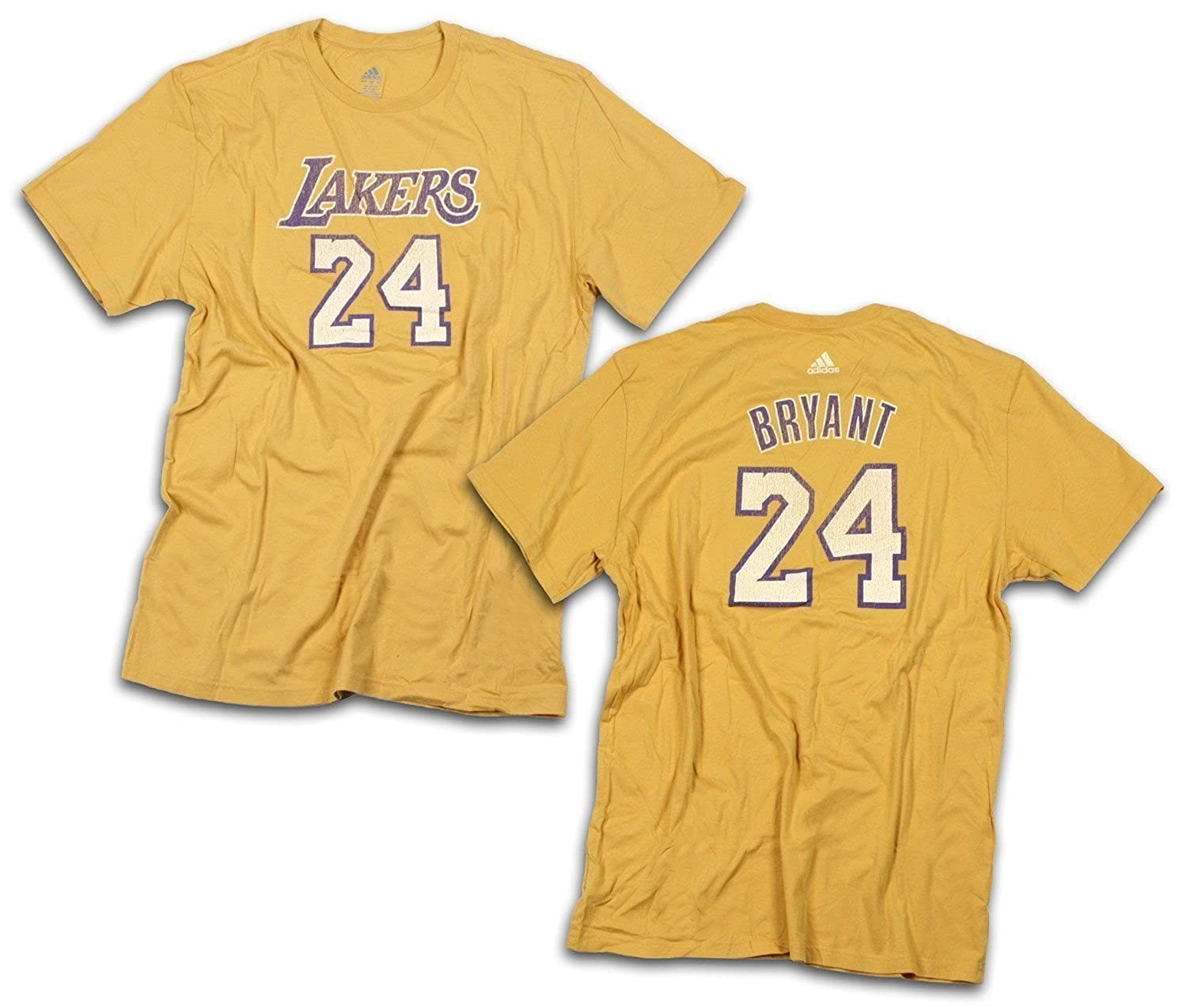 official photos bf2a0 eb8f0 adidas Los Angeles Lakers NBA Mens Kobe Bryant T-Shirt