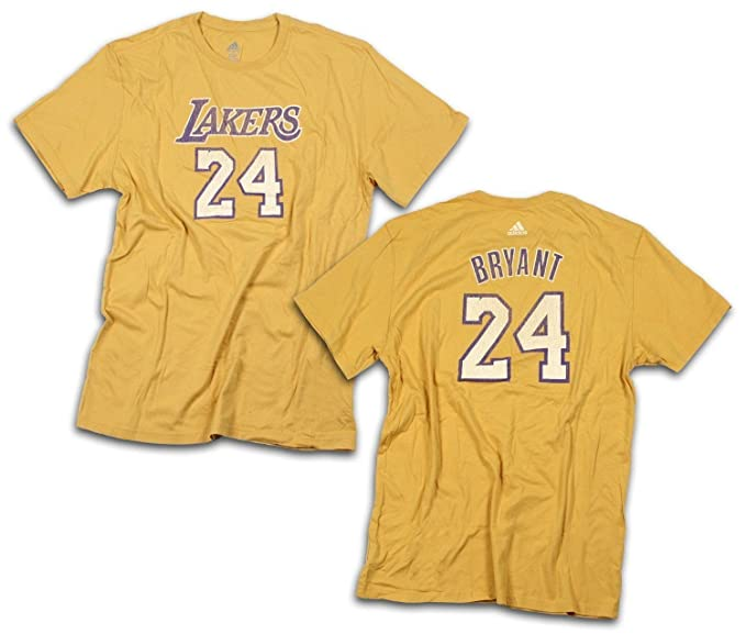 Amazon.com  Los Angeles Lakers NBA Mens KOBE BRYANT T-Shirt  Sports ... f68c4b723