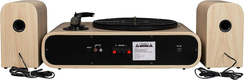 Crosley Switch II Belt-Drive Turntable with Bluetooth, AM/FM Radio ...