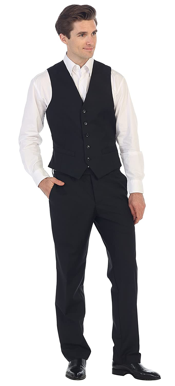 Gioberti Mens 5 Button Formal Suit Vest at Amazon Men's Clothing ...
