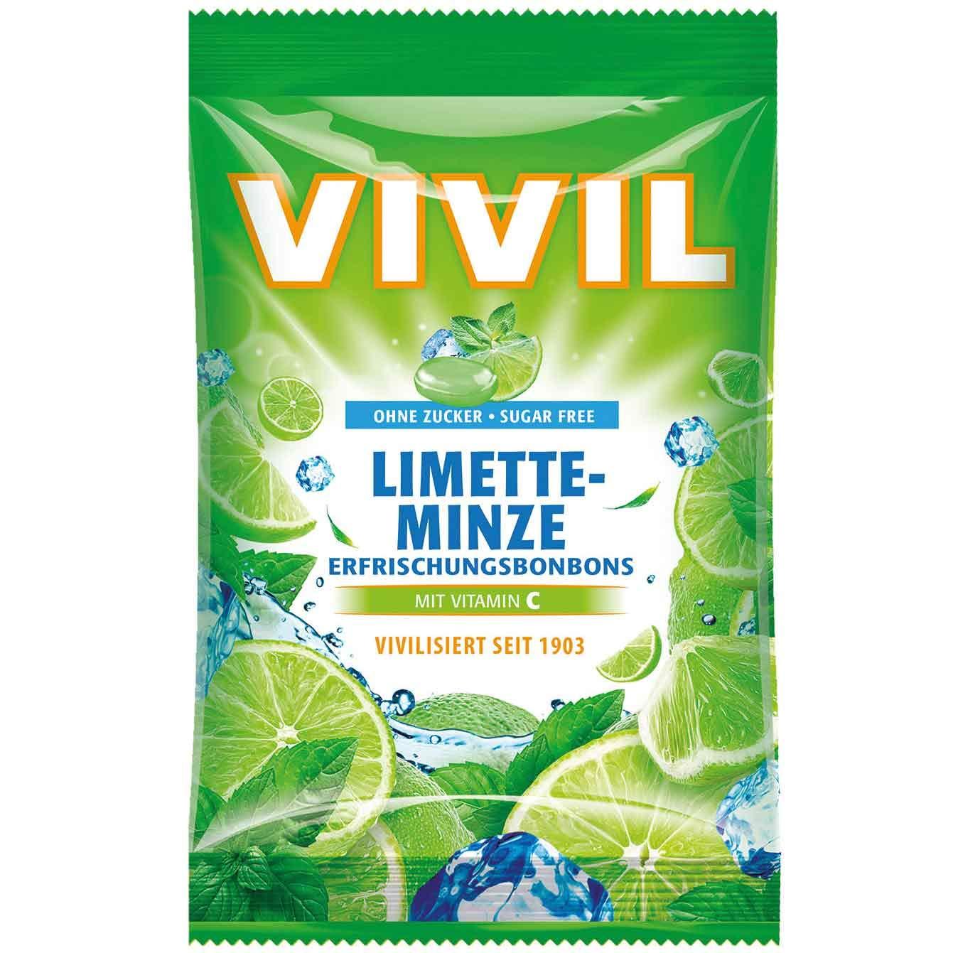 Vivil cough drops sage sugar free (2 x 120g)