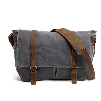 Bolso de tela hombre bandolera bolsa bolso piel Resistant de