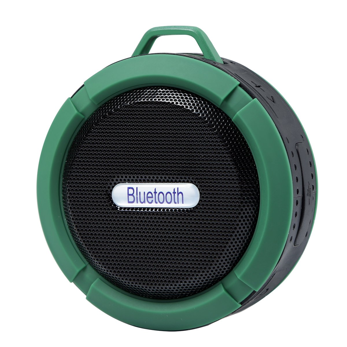 Portable Speakers Bluetooth Waterproof Ipx6 Wireless Outdoor For Phone For Phone Laptop Suction Cup, Built-In Mic, Water Resistant,Beach, Shower & Home (Green)