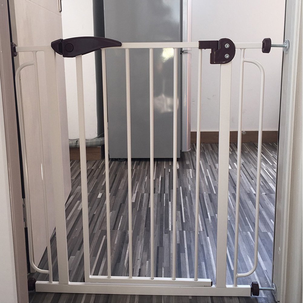 Fairy Baby Pressure Mount Easy Install Walk Thru Gate,Fit Spaces 68.9''-72.4'' Wide,29.9'' High