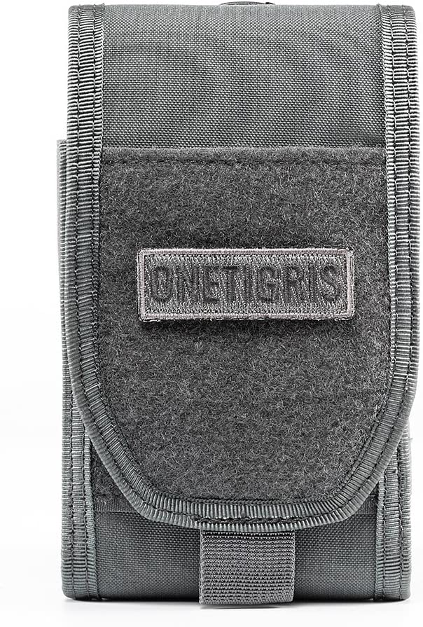 """OneTigris Large Smartphone Pouch for 5.5"""" Phone with Otterbox or Survivor Case"""