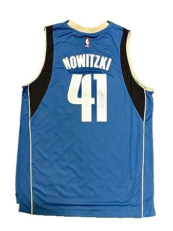 fe9c04b71 ... best price autographed dirk nowitzki jersey away blue jsa certified  autographed nba jerseys 2f58b 5e71d