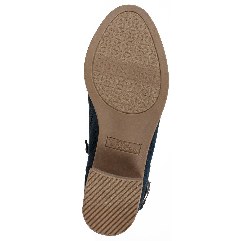 WHITE MOUNTAIN Shoes 8 Avenue Women's Bootie B07BDJDWP4 8 Shoes B(M) US Gray ac8a09