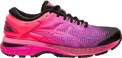 ASICS Women's Gel Kayano 25 Lite Show Running Shoe (BlackBlack, Size 8)