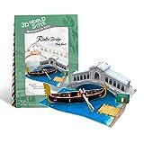 Venezianische Gondel - 3D Karte / Pop-Up Karte / Grußkarte