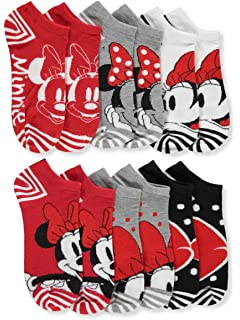 Minnie Mouse Girls 6-Pack Ankle Socks