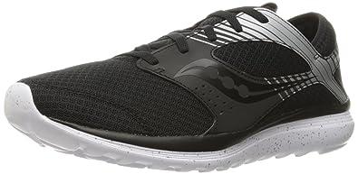 Saucony Men's Kineta Relay Reflex Running Shoe, Black/Silver, ...