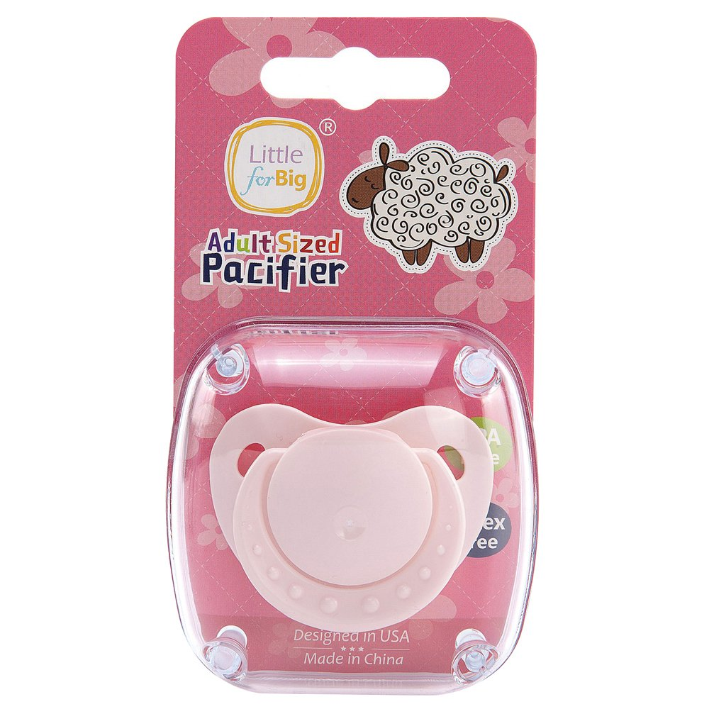 LittleForBig Adult Baby Pacifier Dummy for ADULT BABY ABDL Pink:  Amazon.co.uk: Business, Industry & Science