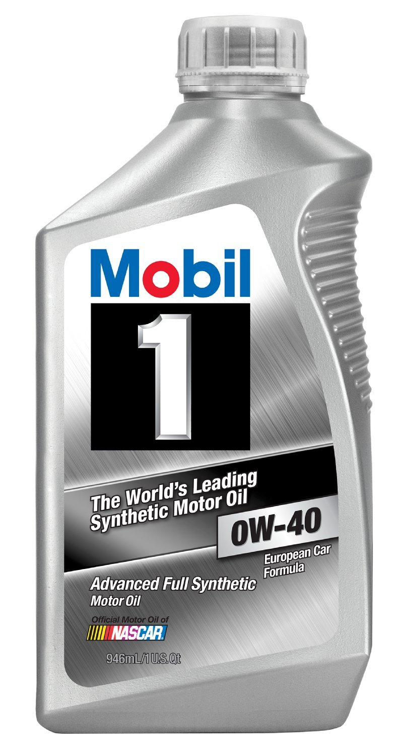 Mobil 1 96989 0W-40 Synthetic Motor Oil - 1 Quart (Pack of 6) by Mobil 1