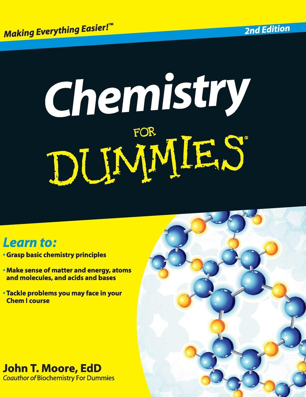 Chemistry for dummies amazon john t moore phd chemistry for dummies amazon john t moore phd 9781119173977 books gamestrikefo Images