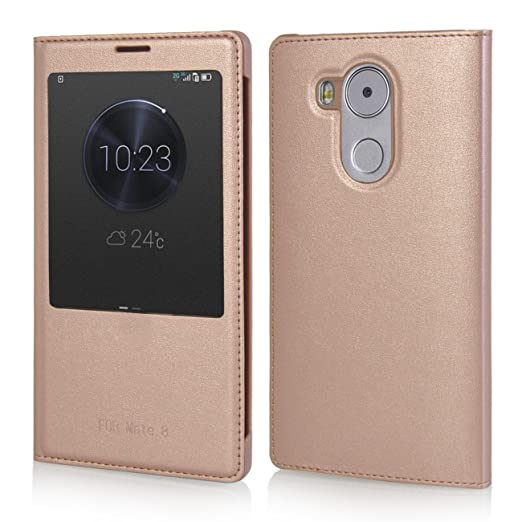 15 opinioni per MOONCASE Huawei Mate 8 Custodia Flip Bookstyle Case Cover per Huawei Mate 8