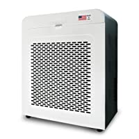 1. Oransi EJ120 Hepa Air Purifier with Carbon Filter, White/Black