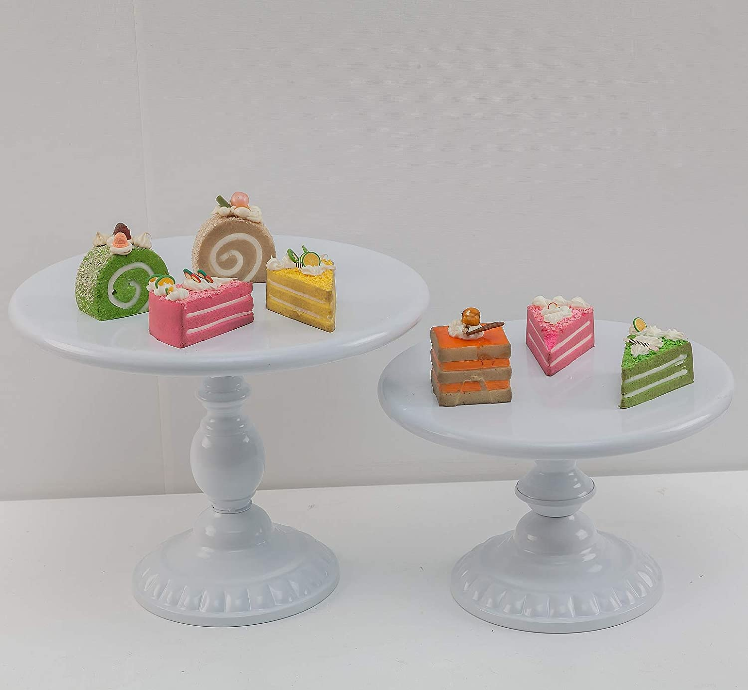Cake Plate Cake Stands Gold Cake Stand,Round Metal Antique Cupcake Holder,Dessert Cupcake Stand//Display//Plate for Wedding Birthday/&Party