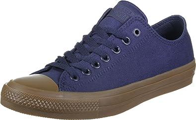 74f148a1f758 Converse Chuck Taylor II CT II OX 155500C Dark Blue Blue Size  10.5 ...