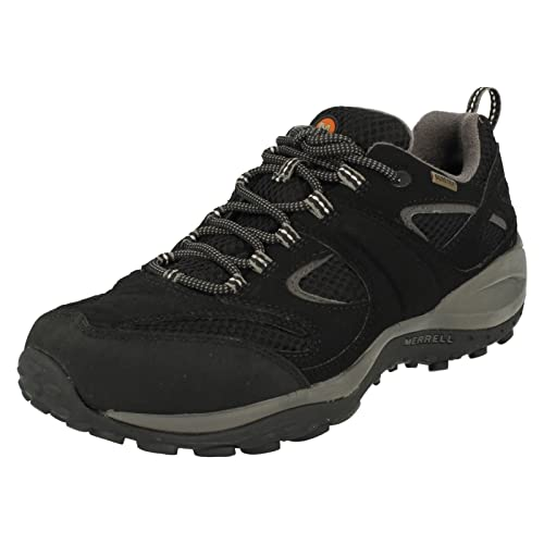 Mens Merrell Gore Tex Casual Shoes Rival Silverton Black