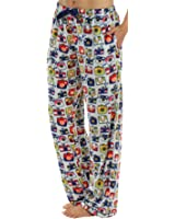 Frankie & Johnny Women's Ultra-Soft Fleece Relaxed Fit Pajama PJ Pants
