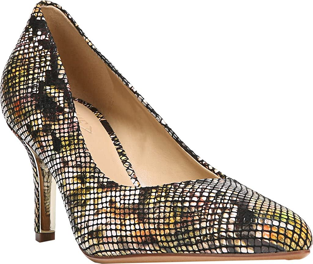 Multi Bright Snake Leather Naturalizer Natalie Pumps