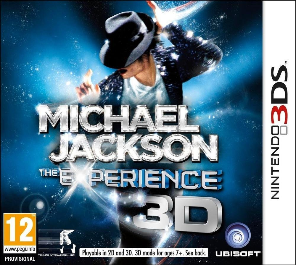 Third Party - Michael Jackson : The experience Occasion [ Nintendo 3DS ] - 3307215588642