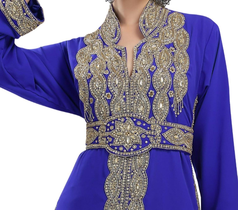 Latest Stylish Moroccan Maghribi Caftan Dress For Women By Maxim Creation 5802