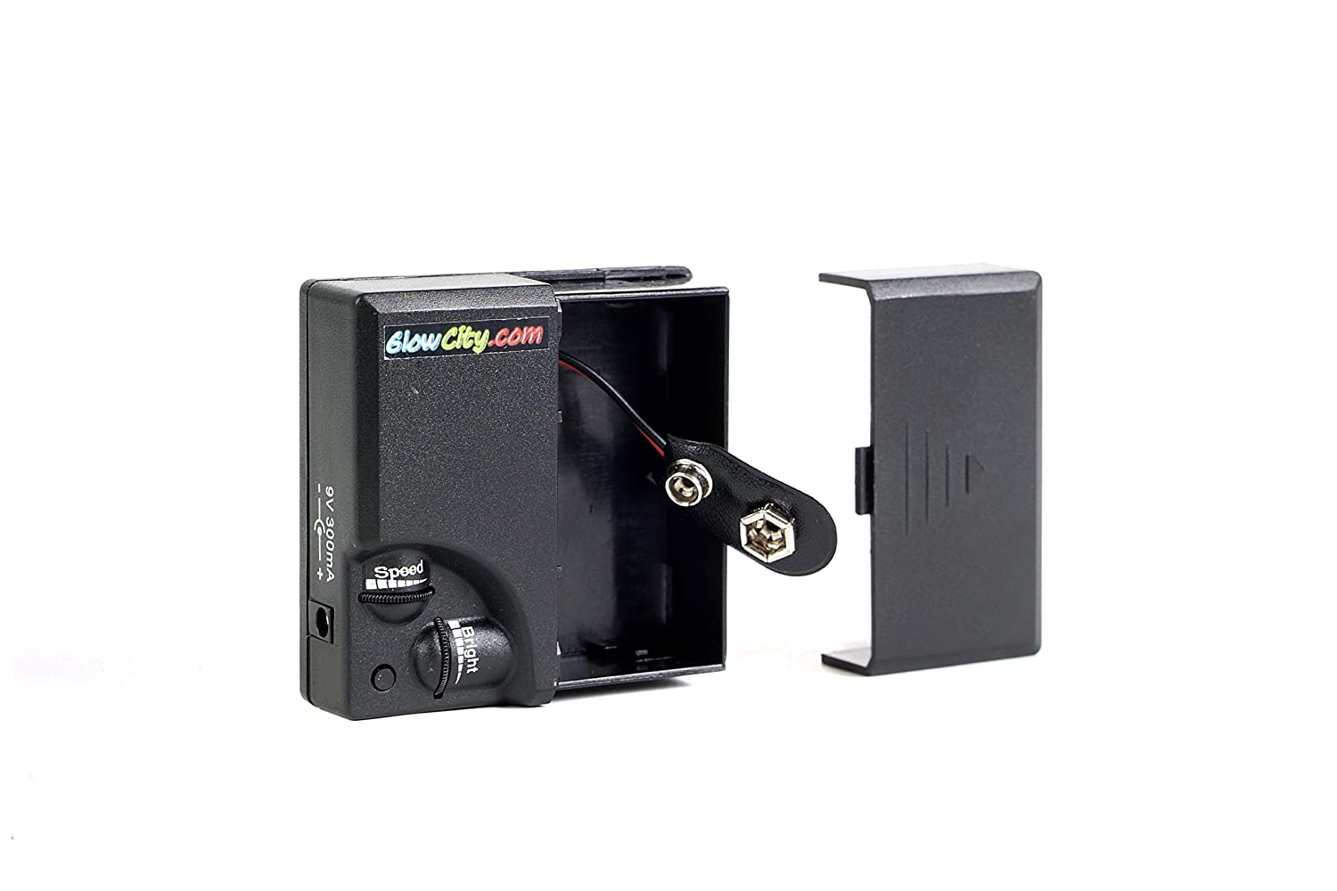 Amazon.com: 9 Volt El Wire Inverter with Blink Speed and Brightness ...