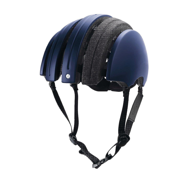 Brooks J.B. Special Faltbarer Helm Grau Karo Blau, HEJBA12118