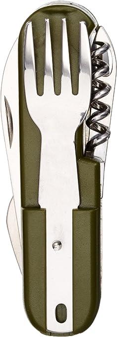 IMEX EL ZORRO 11020-A Cubierto Multiusos, Hombre, Verde, 8 cm