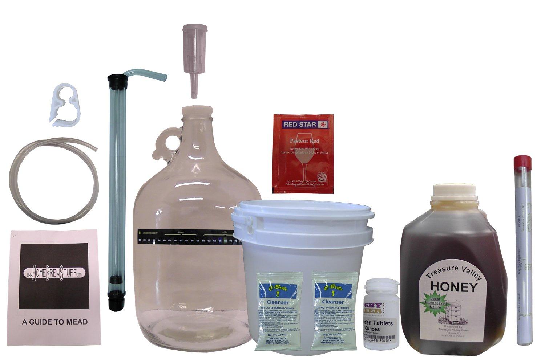 HomeBrwStuff One Gallon Nano-Meadery Premium Mead Kit by Home Brew Stuff (Image #1)