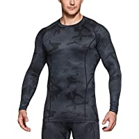 TSLA Men's (Pack of 1, 2) Thermal Wintergear Compression Baselayer Long Sleeve Shirt