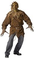 Fun World Men's Evil Scarecrow Monster Halloween Costume