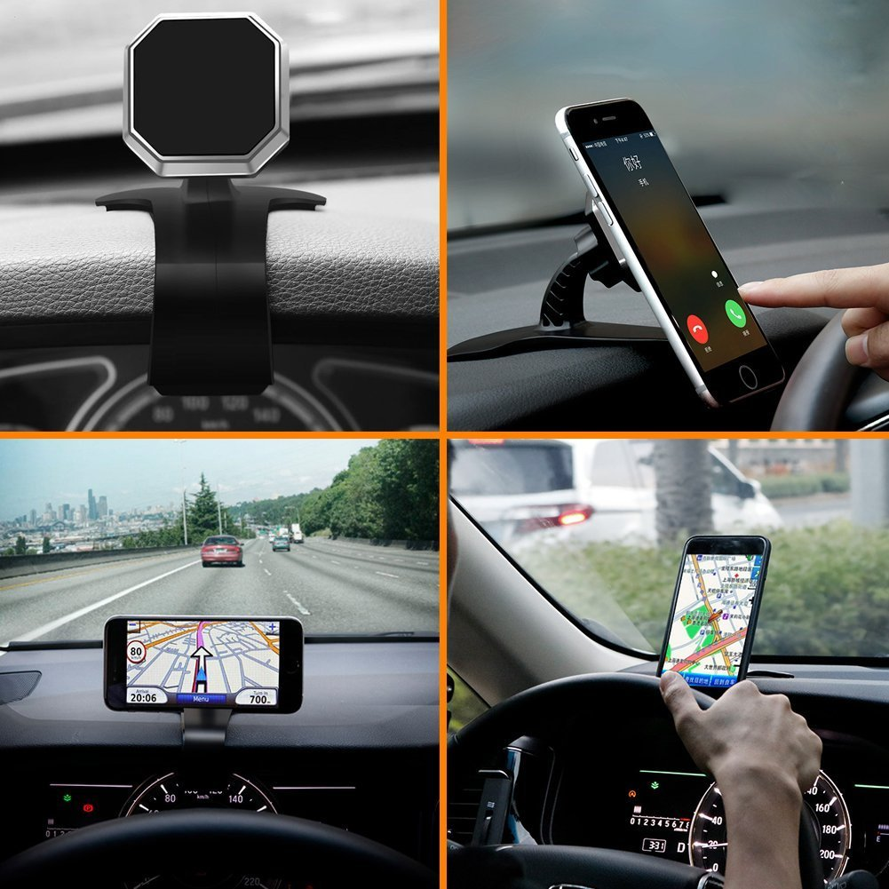 Huawei and Other Mobile Phones 14339599 KEKU The Magnetic-car Dashboard Phone seat Magnetic Card Phone Holder has a Powerful Magnet That can be Used for The iPhone 8 Plus//X Samsung Galaxy S8//Note 8