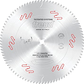 Freud Lcl129002pm 12 Inch 90 Tooth Double Miter Saw Blade For