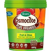 Scotts 120880 Osmocote Plus Organics Fruit & Citrus fertiliser and Soil Improver, 800g