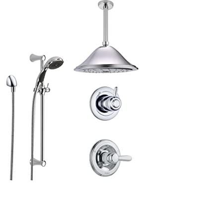 Delta Lahara Chrome Shower System With Normal Shower Handle 3
