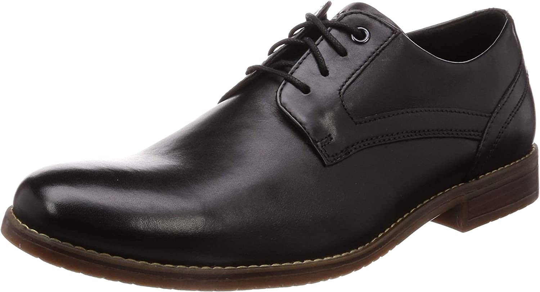 Rockport Style Purpose 3 Plain Toe, Zapatos de Cordones Oxford para Hombre