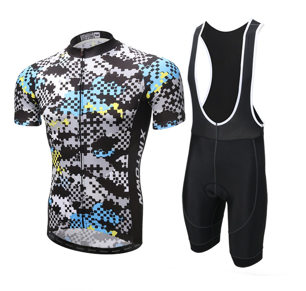Amazon.com   Xintown Men Cycling Jersey Short Sleeve Suit Team Biking  Clothing Summer Man Bike Shirts   Sports   Outdoors 09f68b0e5