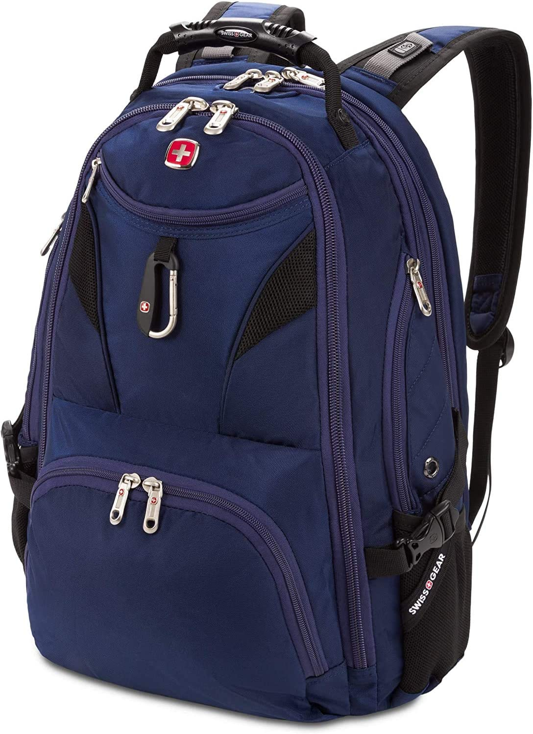 SWISSGEAR 5977 ScanSmart Laptop Backpack | Fits Most 17 Inch Laptops and Tablets | TSA Friendly Backpack | Ideal for Work, Travel, School, College, and Commuting (Navy)