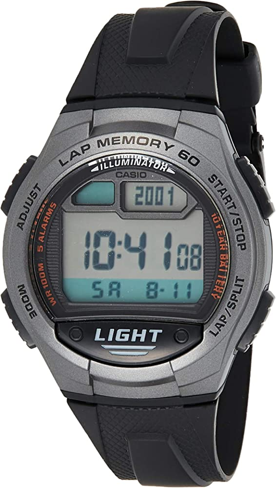 CASIO Reloj de Cuarzo W-734-1A: Amazon.es: Relojes