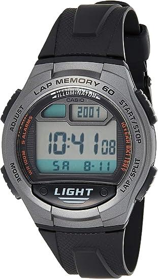 CASIO Reloj de Cuarzo W-734-1A