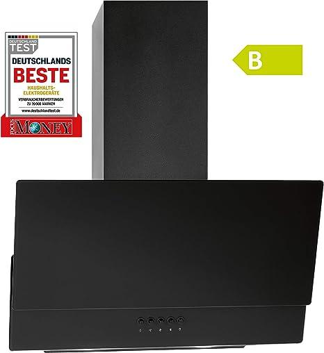 Bomann DU 774 G - Campana extractora de humos (59,5 cm, 347,74 m3/h), color negro: Amazon.es: Grandes electrodomésticos