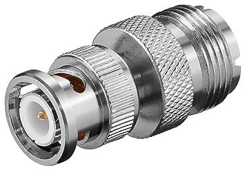 -adapter Bnc Stecker Auf Pl Buchse- Cb-funkgeräte Handys & Kommunikation