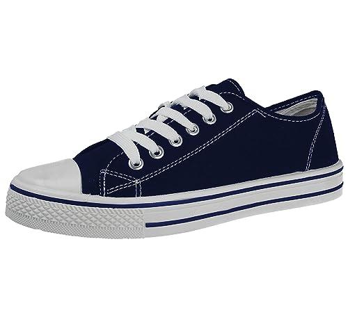 11a357aa Foster Footwear - Zapatillas de Lona para mujer: Amazon.es: Zapatos y  complementos